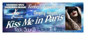 Kiss Me In Paris -Tour banner