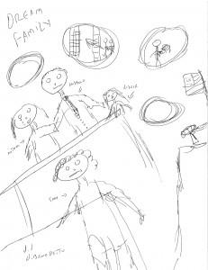 Dream Family Original Sketchg