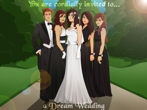 Dream Wedding Invitation